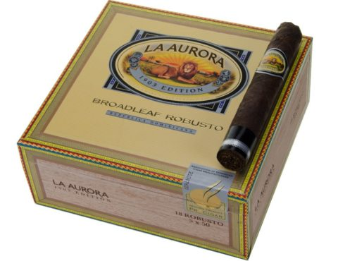 La Aurora 1903 Broadleaf box